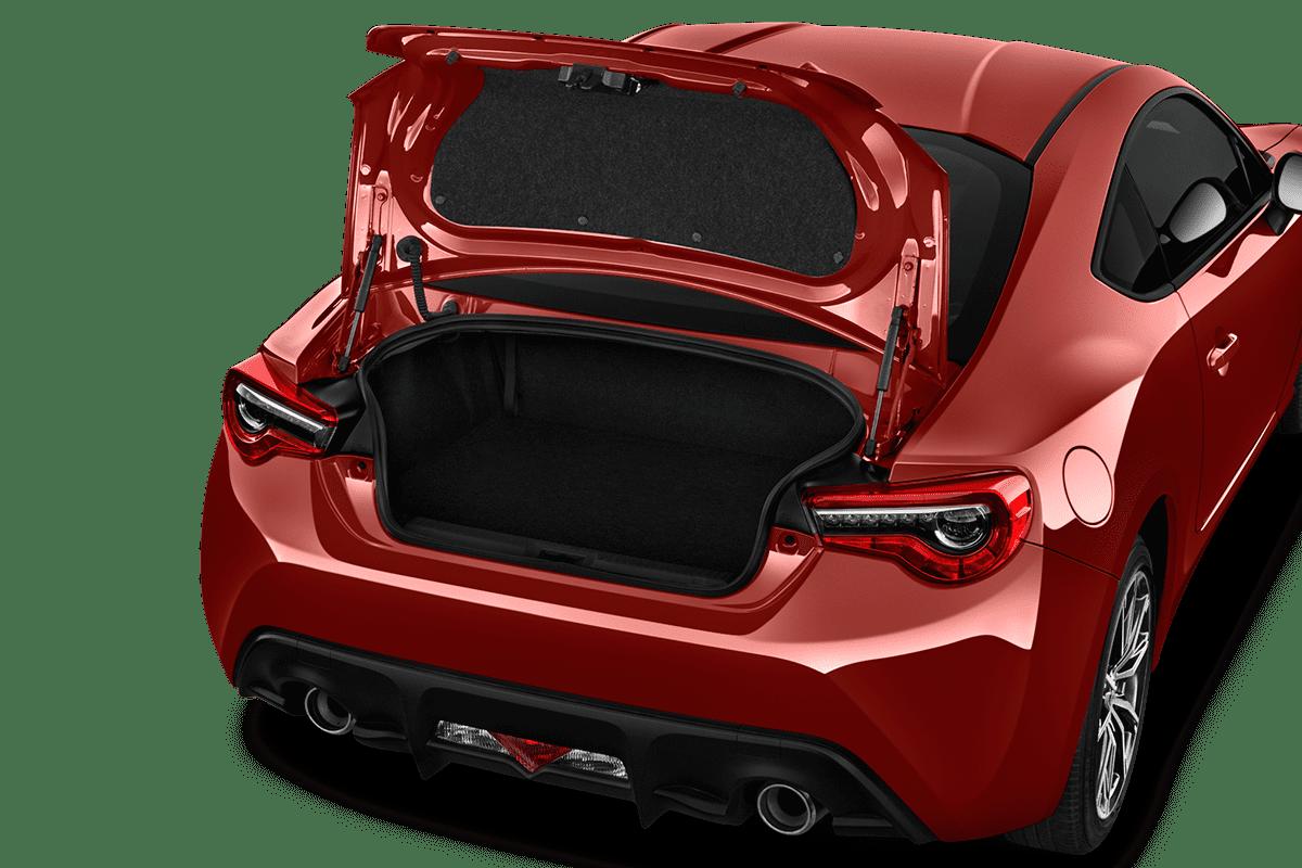 Toyota GT 86 trunk