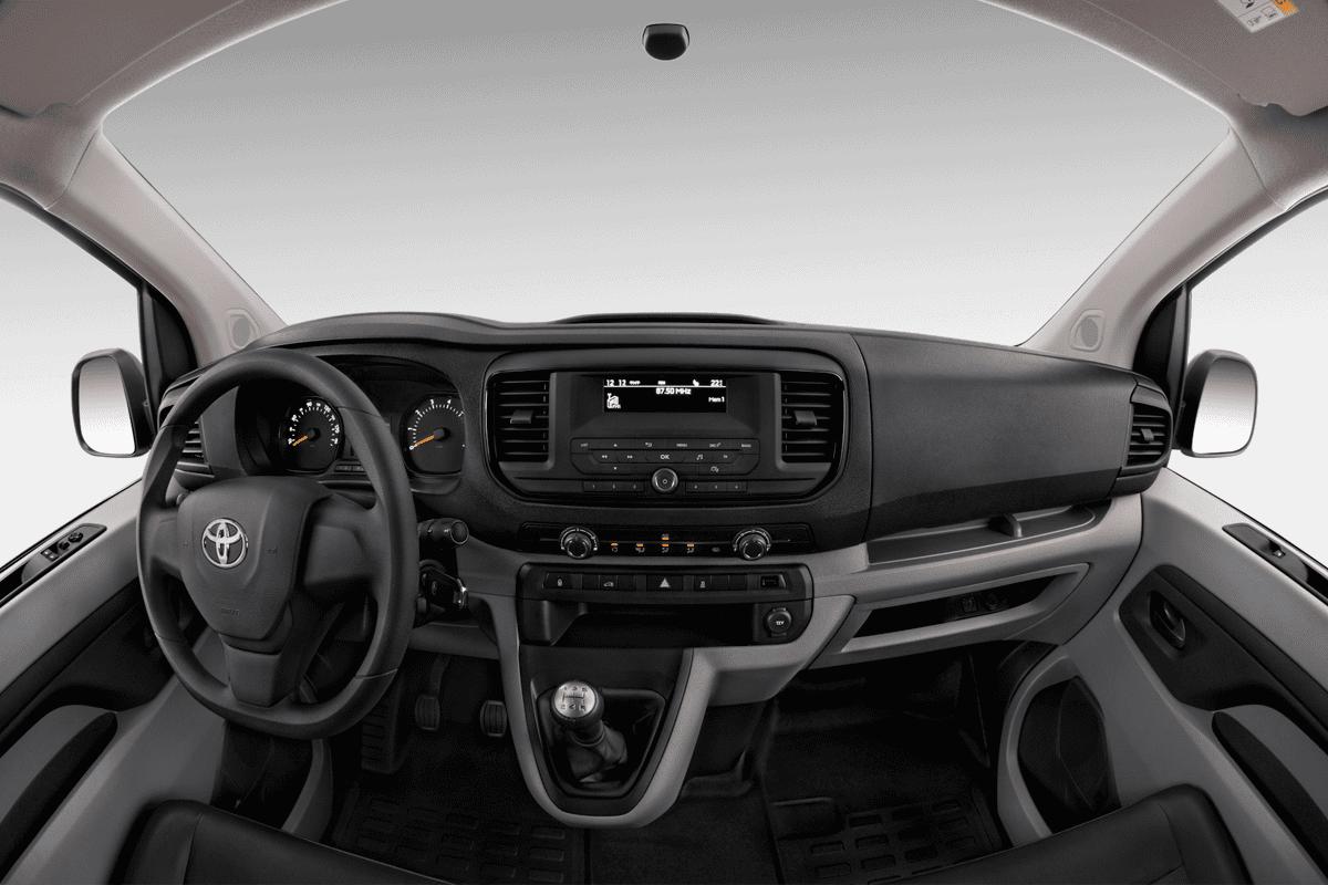 Toyota Proace Elektro dashboard