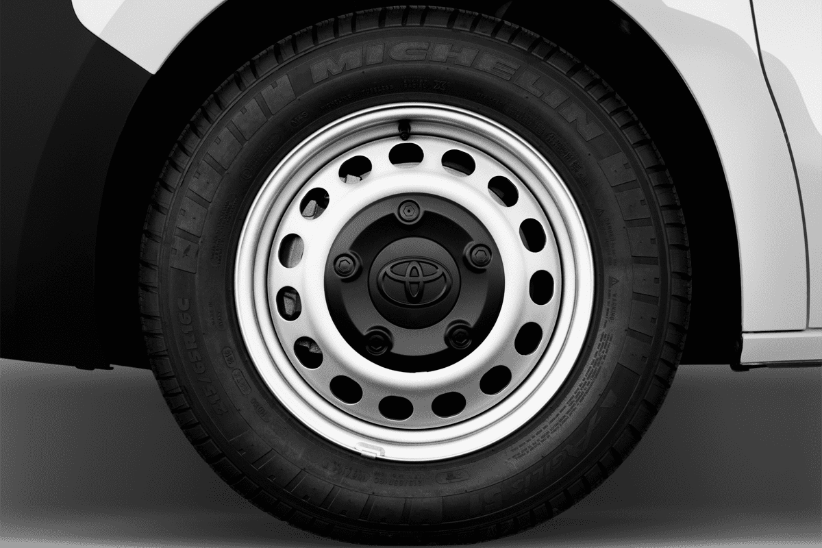 Toyota Proace Elektro wheelcap
