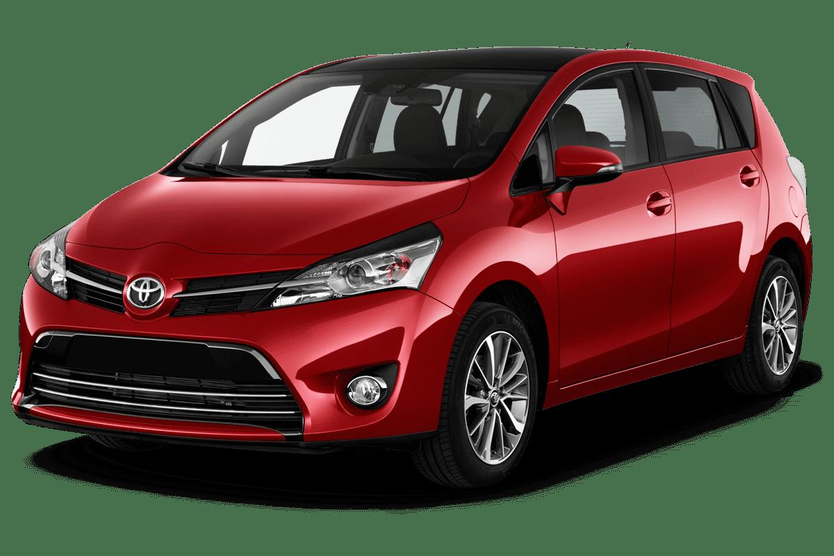 Toyota Verso angularfront