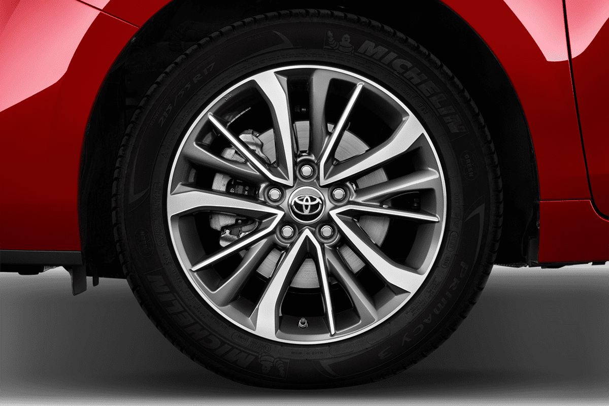 Toyota Verso wheelcap