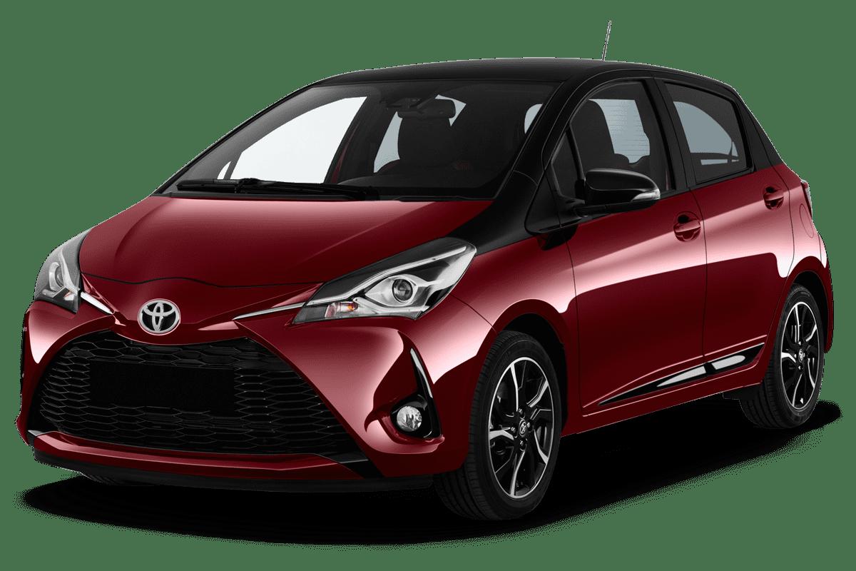 Toyota Yaris Y20 angularfront