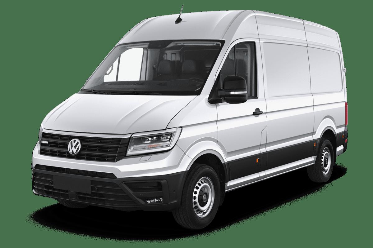 VW e-Crafter angularfront