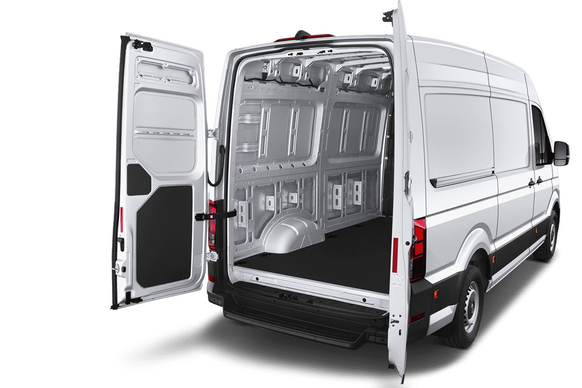 VW e-Crafter trunk