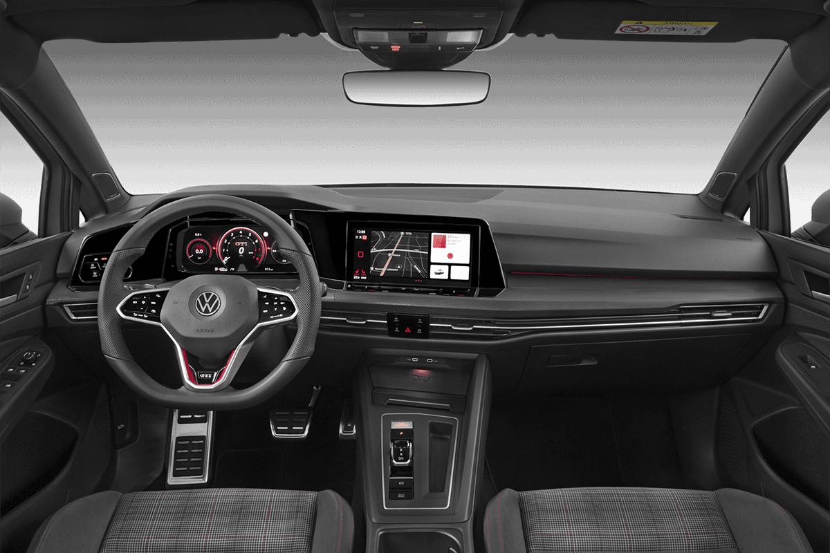 VW Golf 8 GTI dashboard