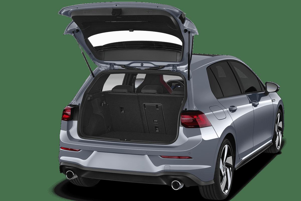 VW Golf 8 GTI trunk