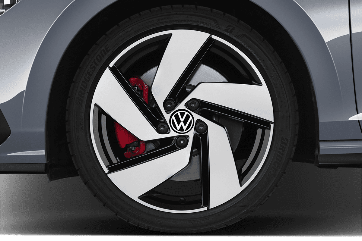 VW Golf 8 GTI wheelcap