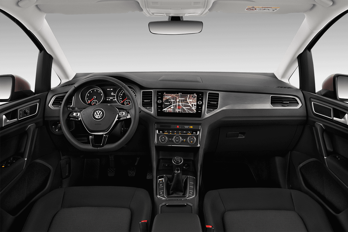 VW Golf Sportsvan All-in-One-Paket dashboard