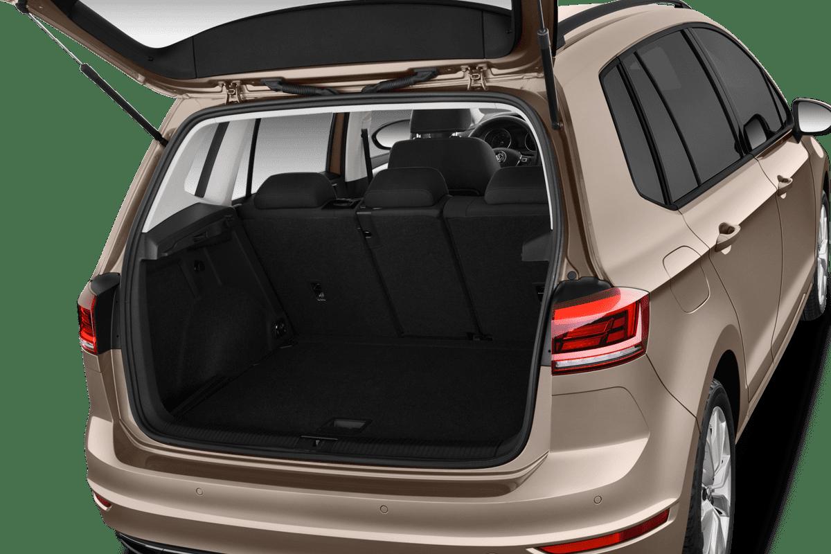 VW Golf Sportsvan All-in-One-Paket trunk