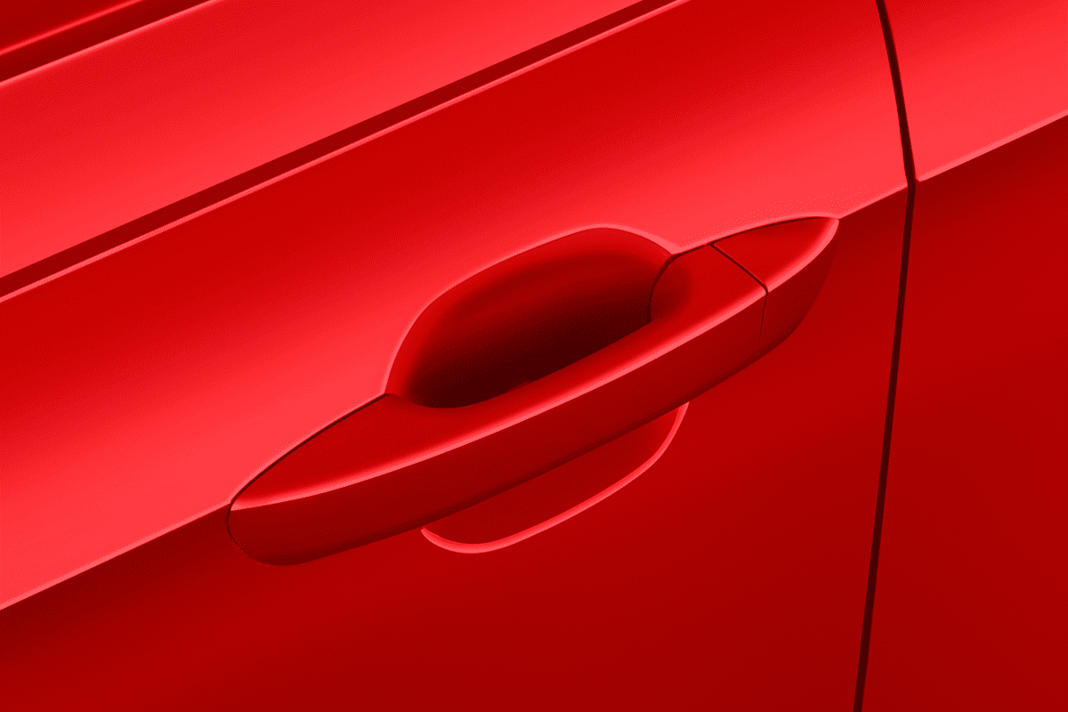 VW Polo IQ.DRIVE doorhandle