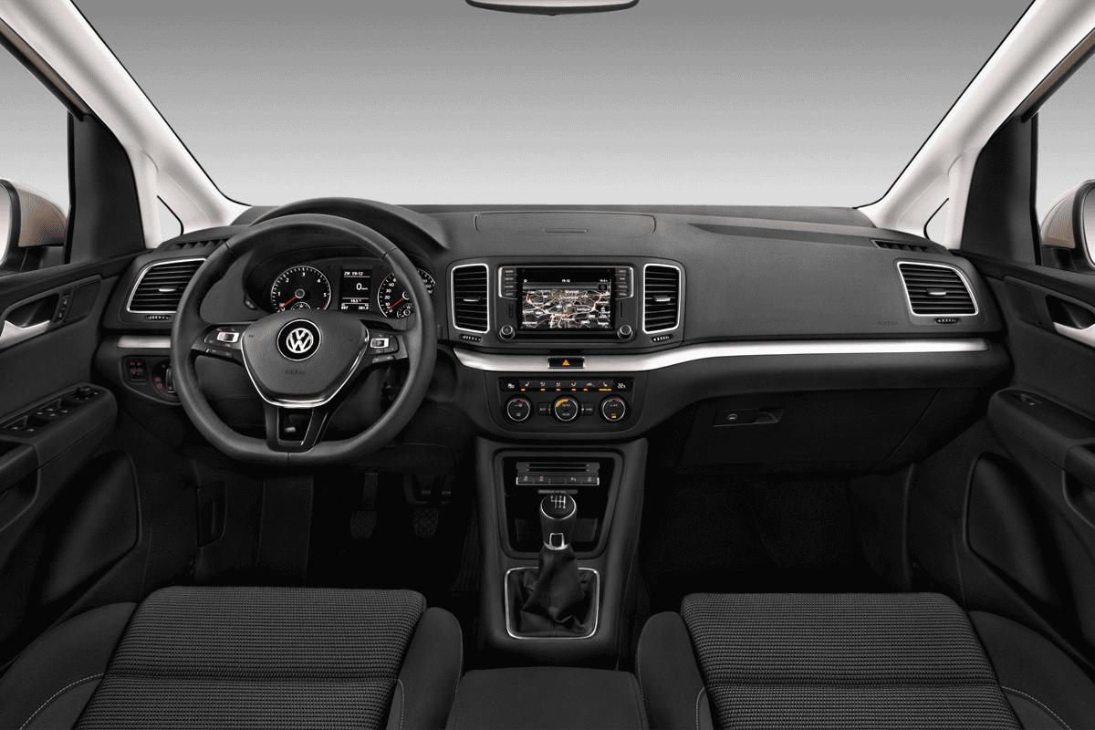 VW Sharan IQ.DRIVE dashboard