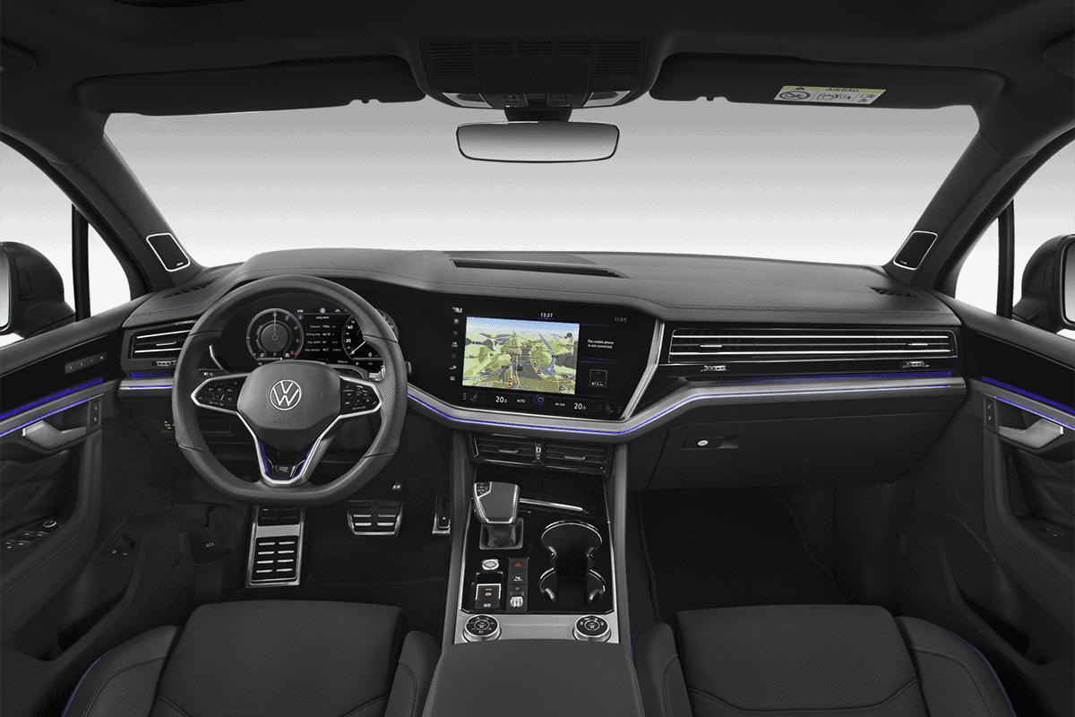 VW Touareg R dashboard