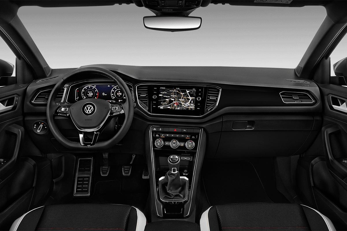 VW T-Roc ACTIVE dashboard