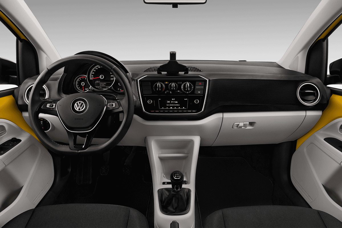 VW up! ACTIVE dashboard