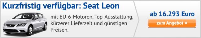 Seat Leon Sonderangebote