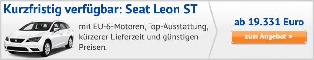 Seat Leon ST Sonderangebote