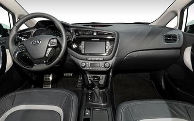 KIA cee'd Sporty Weagon 2015 innen Cockpit