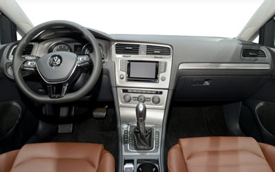 vw golf 7 2014 cockpit